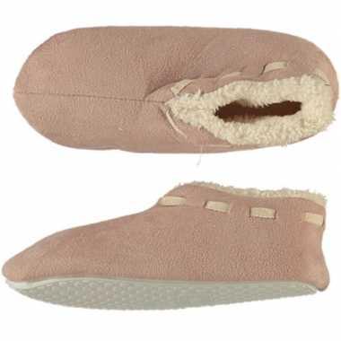 Beige spaanse sloffen/pantoffels stippen voor meisjes maat 31-32 prij
