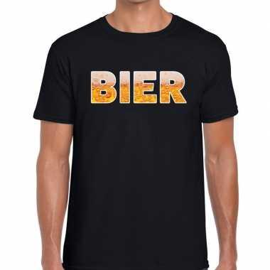 Bier fun t-shirt zwart voor heren prijs