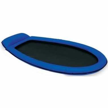 Blauw zwembad intex luchtbed/loungebed mesh 178 x 84 cm prijs