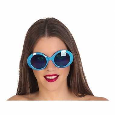 Blauwe dames verkleedbril prijs