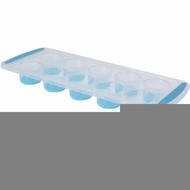 Blauwe ijsklontjesmaker rond prijs