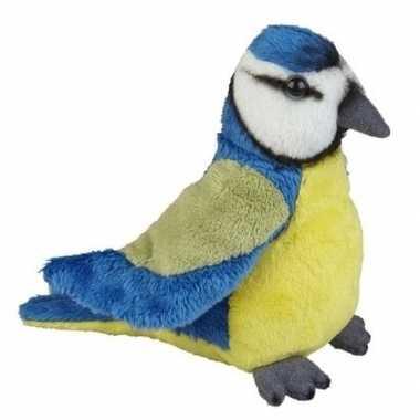 Blauwe pimpelmezen knuffels 15 cm knuffeldieren prijs