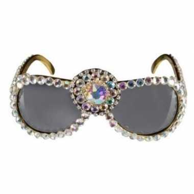 Bling bling verkleed zonnebril voor dames prijs