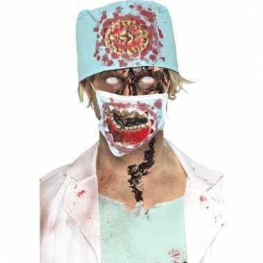 Bloederige zombie chirurg verkleed accessoires prijs