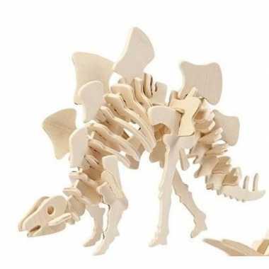 Bouwpakket hout stegosaurus prijs