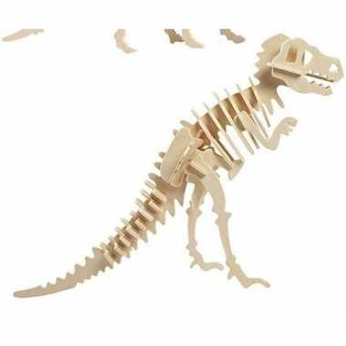 Bouwpakket hout tyrannosaurus prijs