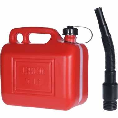 Brandstof jerrycan 5 liter voor diesel / benzine prijs