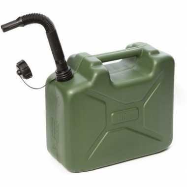 Brandstof jerrycan legergoen10 liter prijs