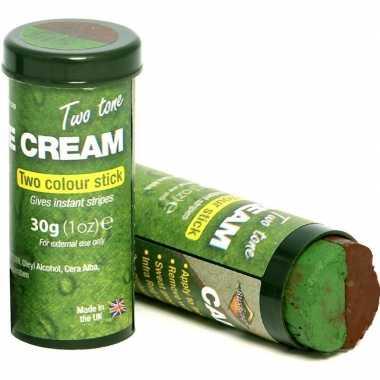 Bruine/groene schminkstift speelgoed voor kinderen/volwassenen prijs