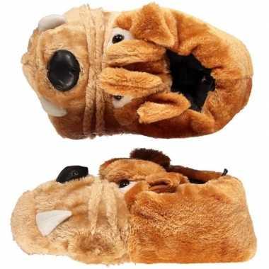 Bulldog pantoffels voor kinderen mt 35-36 prijs