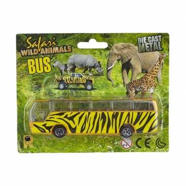 Bussafari speelgoed auto giraf print prijs