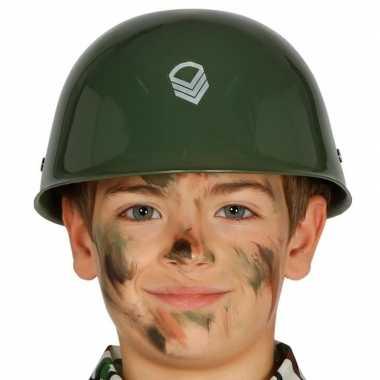 Camouflage helm voor kinderen prijs