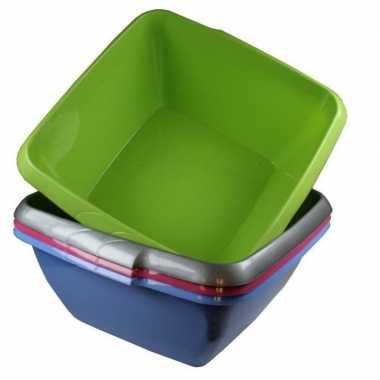 Camping afwasteil / afwasbak blauw 8 liter prijs
