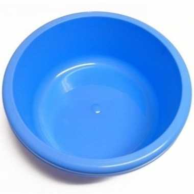 Camping afwasteil / afwasbak blauw rond 6,2 liter prijs