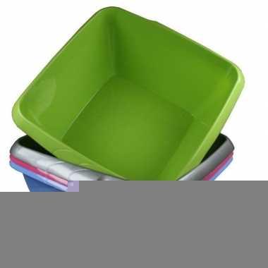 Camping afwasteil / afwasbak groen 8 liter prijs