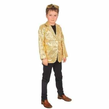 Carnaval colbert jasje goud voor kinderen prijs
