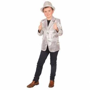 Carnaval colbert jasje zilver voor kinderen prijs