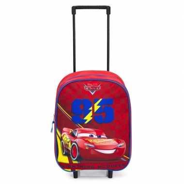 Cars koffer op wieltjes 39 cm voor kinderen prijs