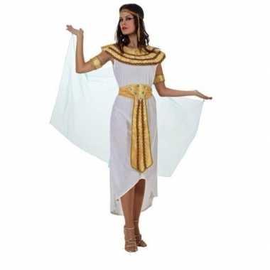 Cleopatra kostuum/set wit voor dames prijs