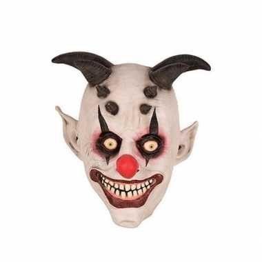Halloween Masker.Clown Horror Halloween Masker Van Latex Prijs Blogshot Nl