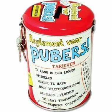 Collectebus reglement voor pubers prijs