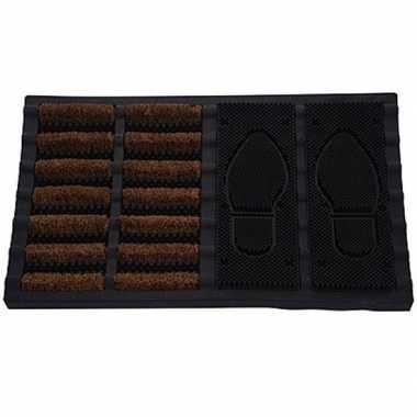 Deurmat/buitenmat rubber 40 x 60 cm prijs