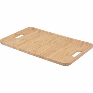 Dienblad bamboe hout 43 cm prijs