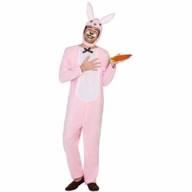 Dieren onesie paashaas/konijn voor volwassenen prijs