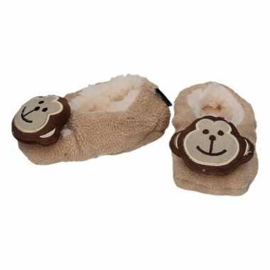 Dieren pantoffels/sloffen aap voor kinderen prijs