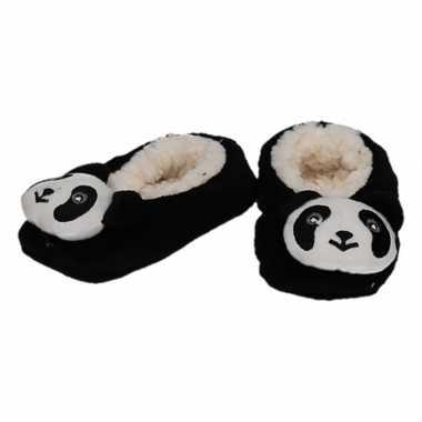 Dieren pantoffels/sloffen pandabeer voor kinderen prijs