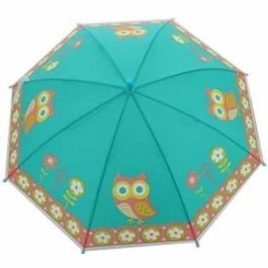 Dierenprint parapluutje 70 cm uil voor meisjes prijs
