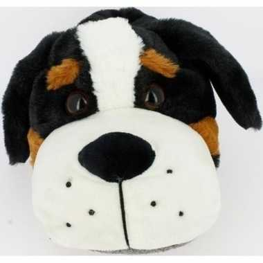 Dierensloffen/dierenpantoffels berner sennen honden voor dames - maat