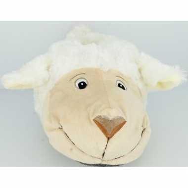 Dierensloffen/dierenpantoffels schapen/lammeren voor dames - maat 36/