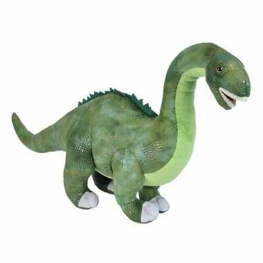 Dino diplodocus langnek knuffeldier 63 cm pluche prijs