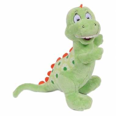 Dinosaurus tyrannosaurus knuffeldier 20 cm prijs