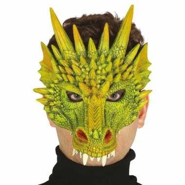 Draak/draken horror/halloween masker van foam prijs