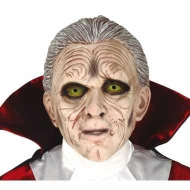 Dracula horror/halloween masker van latex prijs