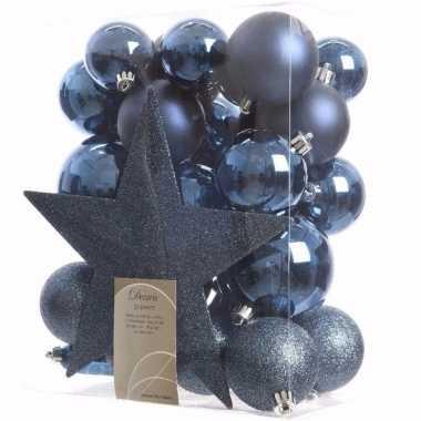 Elegant christmas kerstboom decoratie set 33-delig prijs