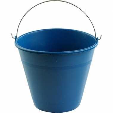 Emmertje blauw 8 liter 26 x 22,5 cm schoonmaakartikelen prijs