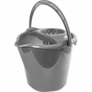 Emmertje grijs 13,5 liter 32 x 30 cm schoonmaakartikelen prijs