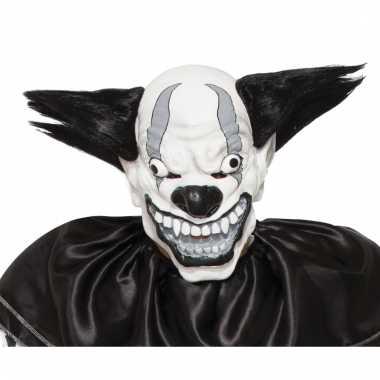 Enge zwarte clown masker voor volwassenen prijs
