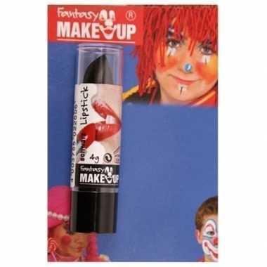 Feest/party lipstick/lippenstift mat zwart prijs