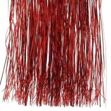 Feestversiering folie engelenhaar rood prijs