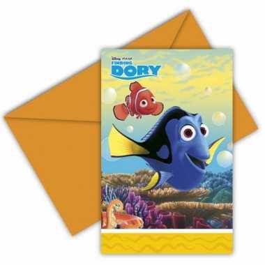Finding dory uitnodigingen met enveloppe prijs
