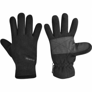 Fleece sport zwarte handschoenen starling voor kinderen prijs