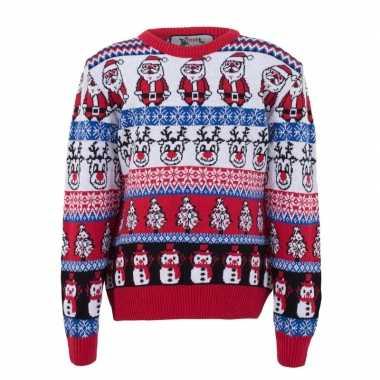 Foute kersttrui nordic print voor volwassenen prijs