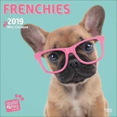Franse bulldogs kalender 2019 prijs