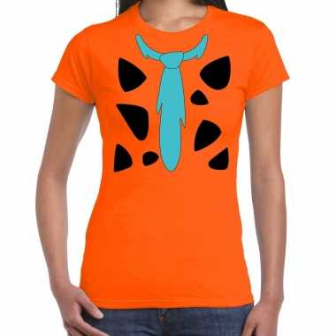 Fred lookalike holbewoner t-shirt voor dames prijs