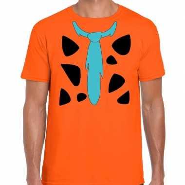Fred lookalike holbewoner t-shirt voor heren prijs