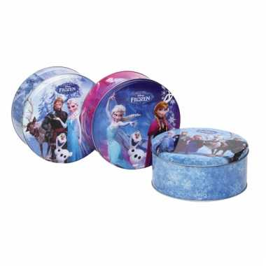 Vergelijk frozen koektrommels blauw prijs